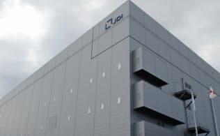 生産を停止するJDI白山工場(石川県白山市)