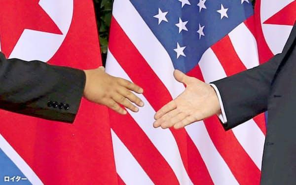 米朝首脳会談から12日で1年たつが、非核化交渉は停滞している(写真はロイター)
