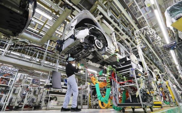 大企業のうち製造業がマイナス10.4となった