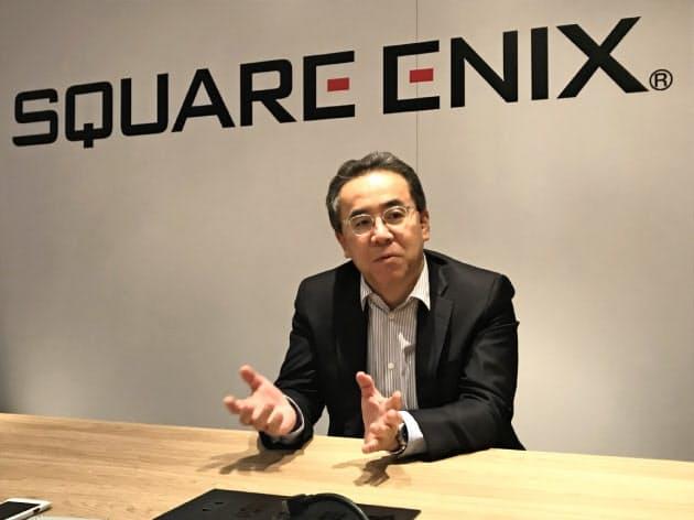 スクエニ松田社長「クラウド、ゲーム開発も変える」