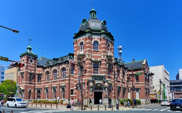 岩手銀行が地元の産業の発信拠点として活用する赤レンガ館