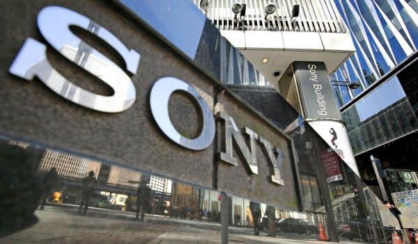 ソニーの事業構造を巡る論争が再び活発になりそうだ=AP