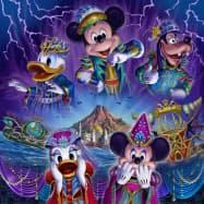 東京ディズニーリゾートで今秋開催するハロウィーンイベント「ディズニー・ハロウィーン」のイメージ (C)Disney