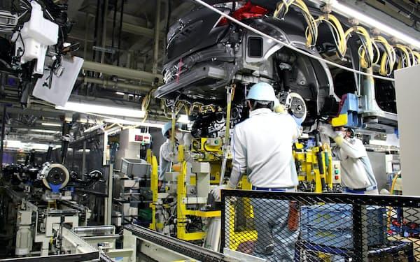 トヨタはサプライチェーンの減災のカイゼンも続ける(岩手県の完成車工場)