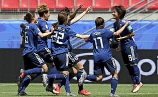 なでしこ初勝利 サッカー女子W杯1次リーグ
