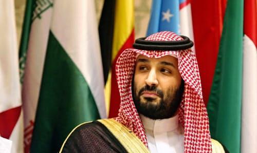 タンカー攻撃に関与したとしてイランを非難したサウジアラビアのムハンマド皇太子=AP