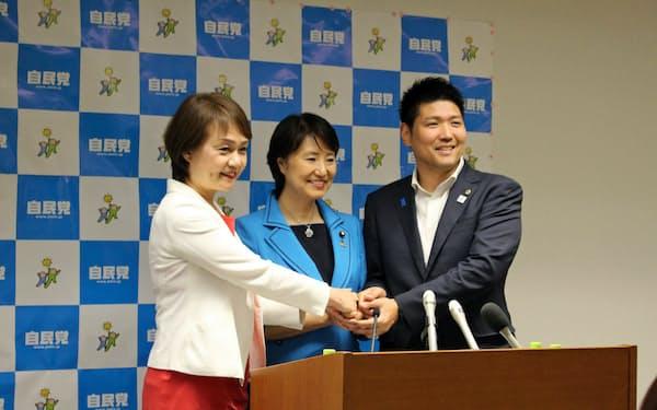 自民府連は大阪都構想に是々非々の議論で臨むことで一致した