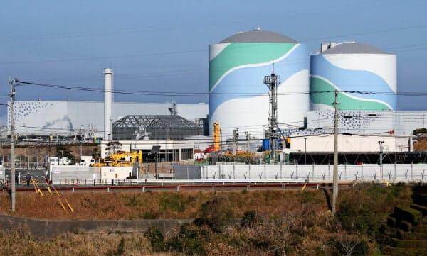 九州電力の川内原子力発電所周辺には目立った活断層がない(鹿児島県薩摩川内市)
