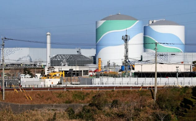 九州電力の川内原子力発電所
