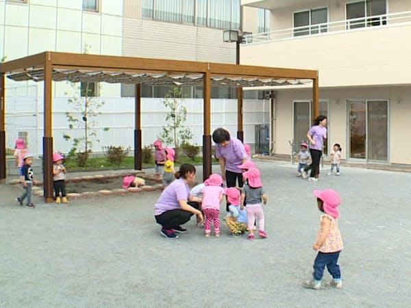 首都圏の自治体は受け皿を整備するが待機児童の解消は道半ば(東京都内の保育所)