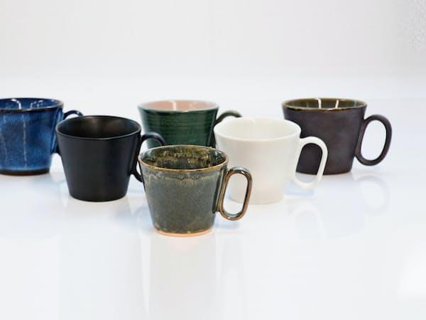 全国の陶磁器でマグカップを開発する