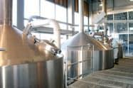 イベントでは醸造所内の見学や製造工程の一部を体験できる