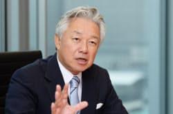 さやま・のぶお 京大工学部卒業後、帝人入社。1987年三井銀行入行。現在は投資ファンドのインテグラルを率いる。2015年、スカイマーク会長に。
