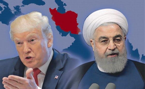 イランのロウハニ大統領は17日、核合意維持に向け欧州などに与えられた時間は「限られている」と警告した(コラージュ、写真はロイター)