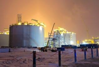 2017年に輸出を開始した最初の北極圏LNG生産基地「ヤマルLNG」には中国も出資した