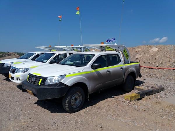 新たな出資会社は、鉱山開発する企業向けにも車両をリース提供している