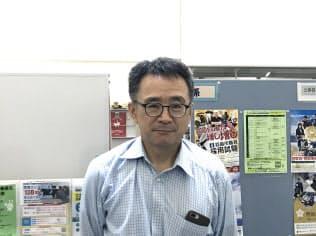 金沢大学就職支援室長、山本均氏