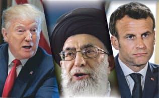 イランは欧州連合(EU)に事態改善に向けた行動を強く促し始めた(コラージュ、写真はいずれもロイター)
