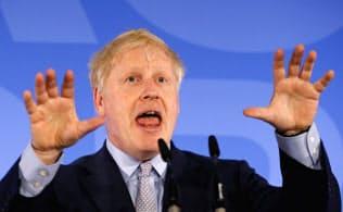 メイ首相の後任として有力視されている離脱強硬派のジョンソン前外相=ロイター
