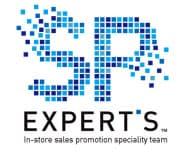 店頭販促システム「ランキングマイレージ」を開発した博報堂DYグループ横断のプロジェクトチーム「SP EXPERT'S」のロゴ