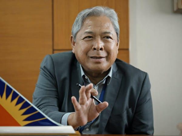 退任するフィリピン航空のハイメ・バウティスタ社長