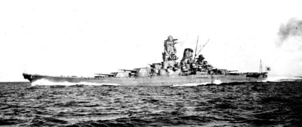 旧日本海軍の戦艦「大和」=共同