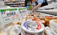 日本のチーズ消費量は年々増加している