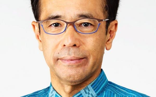沖縄観光コンベンションビューローの新会長に就任した下地芳郎氏