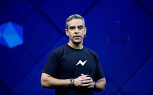 フェイスブックで仮想通貨チームを率いるデービッド・マーカス氏=ロイター
