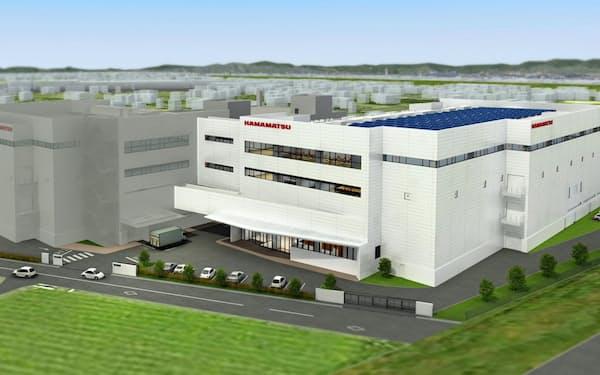 浜松ホトニクスが新貝工場内に建設する新棟(写真はイメージ)