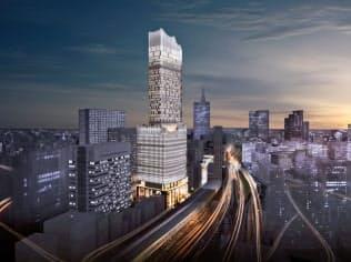 「新宿 TOKYU MILANO」を核に、歌舞伎町を文化発信拠点にする(完成イメージ)