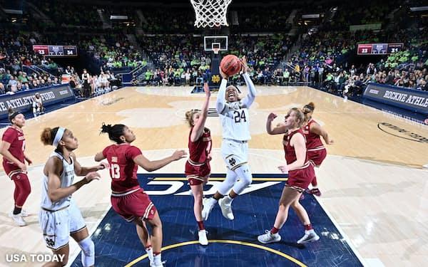 NCAA加盟校には日本の高校生をスカウトする意向があるという(2019年1月)=USA TODAY