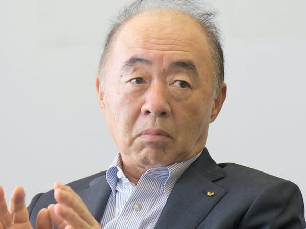 安原社長は創業家以外から初めて社長に就任した