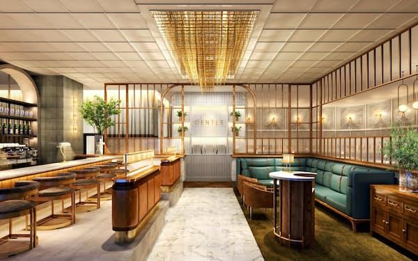 将来はホテル事業のメインダイニングとして展開を目指す新レストラン「GENTLE」(イメージ)