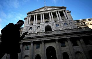 英イングランド銀行本店(ロンドン)=ロイター
