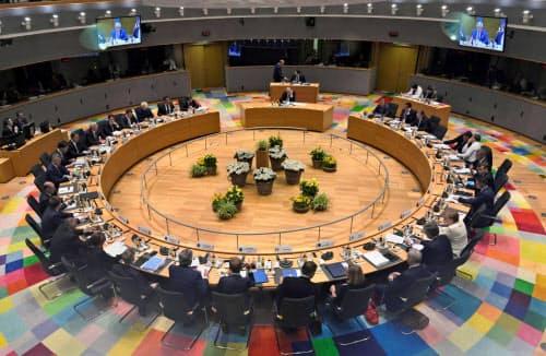 EU首脳は20日、気候変動や人事などを協議した=ロイター