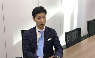 取材に応じるルネサスの柴田英利・最高財務責任者