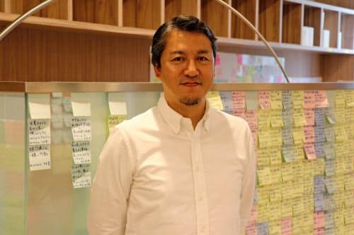 カルビーフューチャーラボ クリエーティブ・ディレクターの山辺昌太郎さん