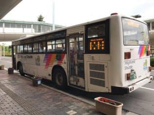 茅野市は生活路線で運賃の100円キャンペーンを実施している