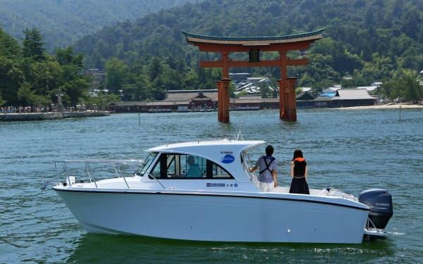 ピージーシステムは海上のライドシェア事業に乗り出す