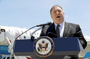 ポンペオ国務長官は米朝交渉の再開に楽観的な見方を示した(写真はロイター)
