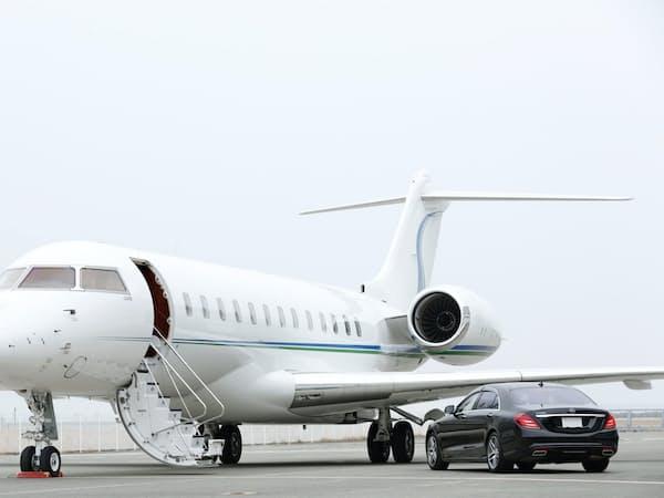 双日はビジネスジェットの運用体制を強化し、VIPの往来の活性化を後押しする考え
