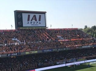 スマホを活用し「IAIスタジアム日本平」(静岡市)の入場者の利便性を高める。
