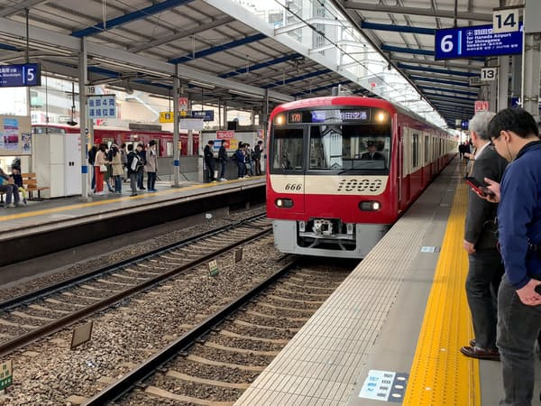 上り列車の混雑緩和につなげる(川崎市)