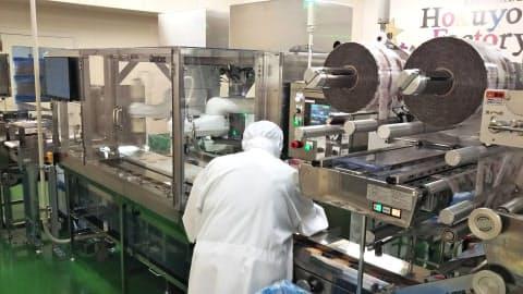 北海道工場でAIによる品質管理システムを導入する(北海道小清水町)