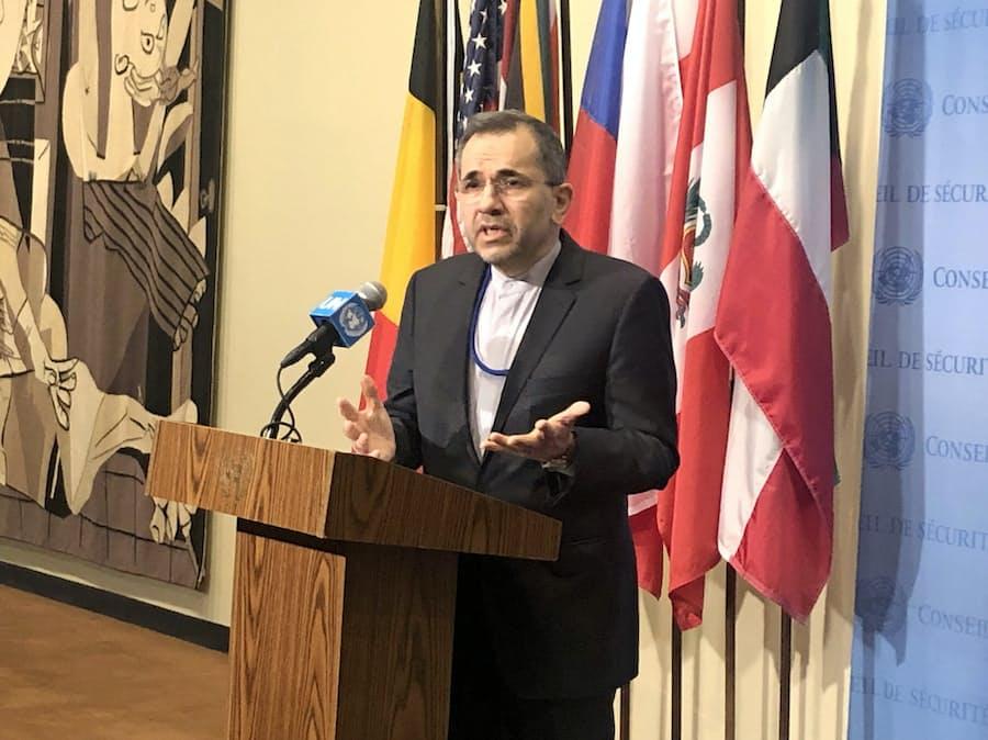 イラン国連大使「脅されては対話できず」 米の制裁批判: 日本経済新聞