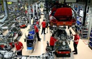 逆風が強まるドイツの自動車産業=ロイター