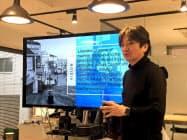 コトバデザインの栄藤稔社長は大阪大学教授も務める
