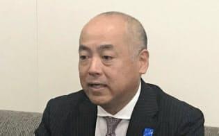 高松空港の小幡義樹社長