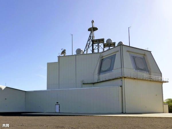 米ハワイ州カウアイ島にある地上配備型迎撃システム「イージス・アショア」の米軍実験施設=共同